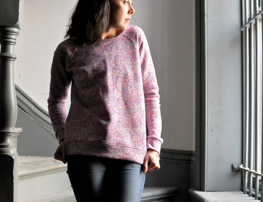 Grainline Studio Linden Liberty of London Pink Morris
