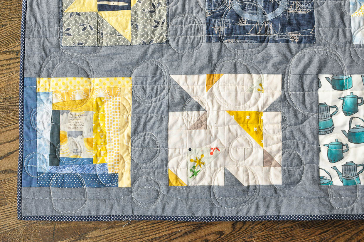 critque of patches quilt and community