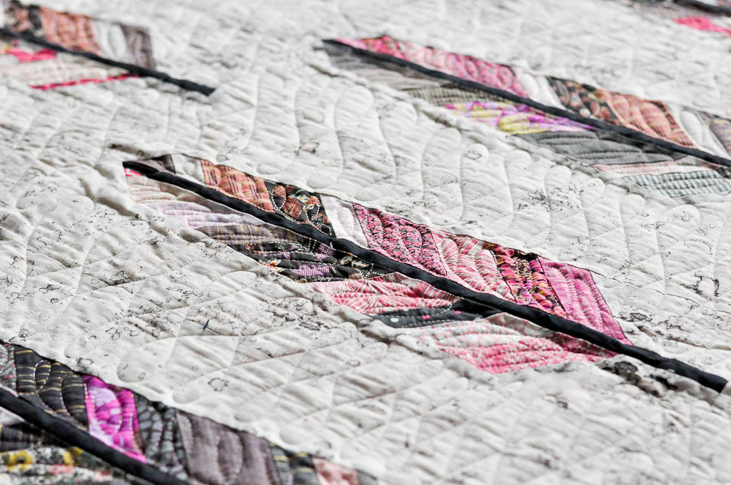 Feather Bed quilt detail