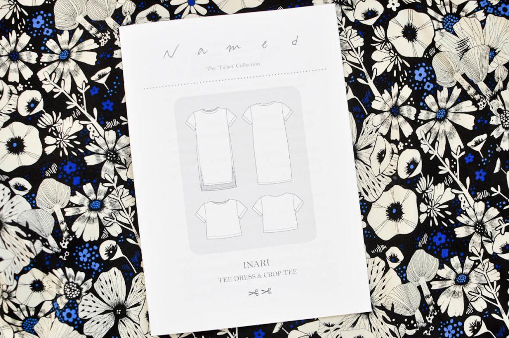 Inari Tee Dress Pattern