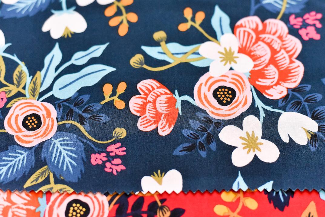 Rifle paper co les fleurs fabric make something for Les fleur