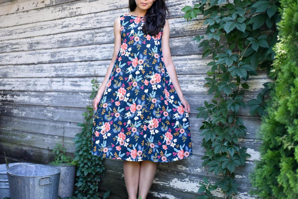 Trapeze Dress Les Fleurs