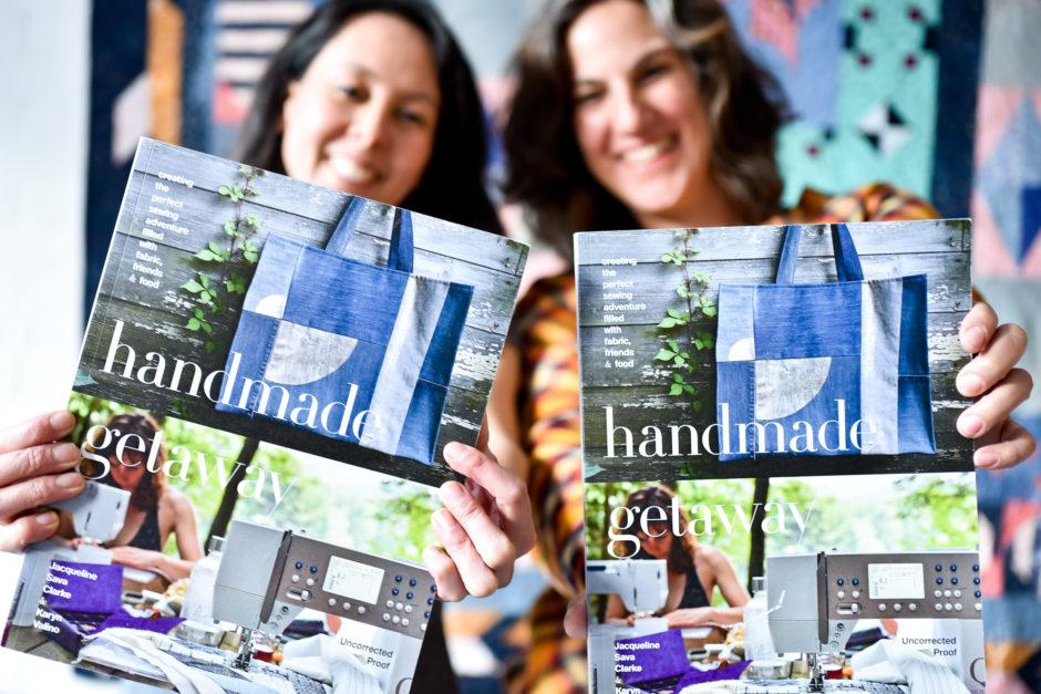 Handmade Getaway Authors, Karyn Valino & Jacqueline Sava